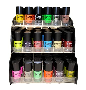Amazon.com: Matte Style 16 Piece Color Nail Lacquer Combo Set + 6 ...