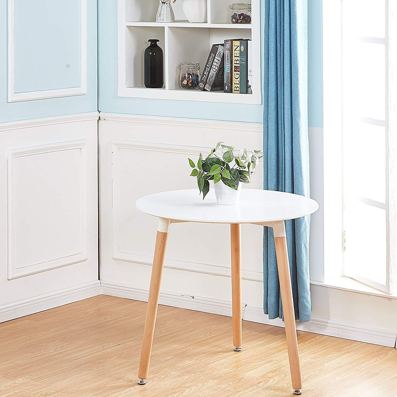 esstisch edward hochglanz weiss ausziehbar 80 80 72cm. Black Bedroom Furniture Sets. Home Design Ideas