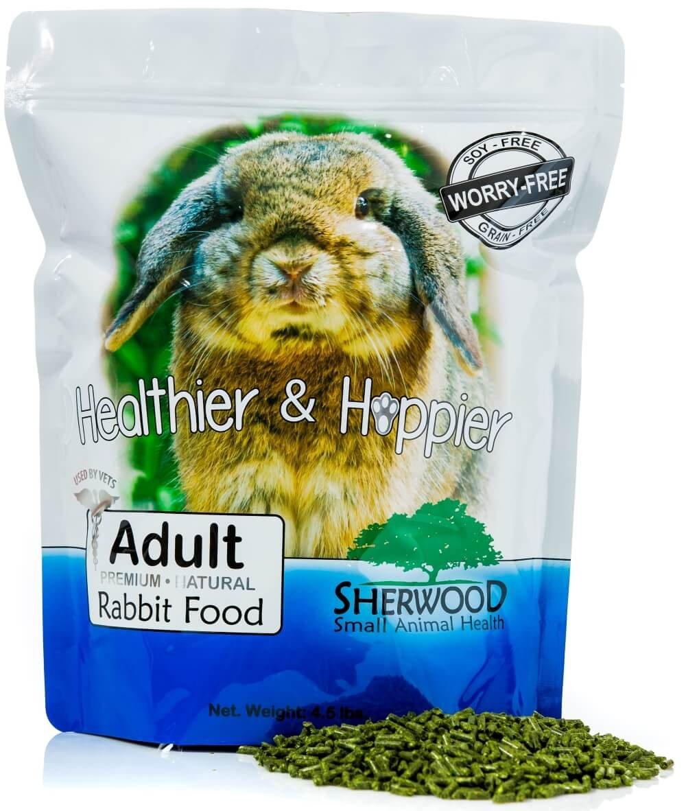 Rabbit Food, Adult by Sherwood Pet Health - Timothy blend (Grain & Soy-Free) (Vet Used)