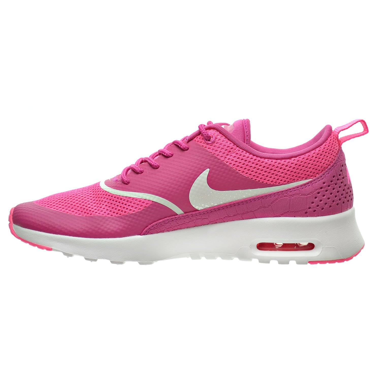 the best attitude 96064 ecae2 Amazon.com   Nike Air Max Thea Women s Shoes Vivid Pink Summit White  599409-609   Fashion Sneakers