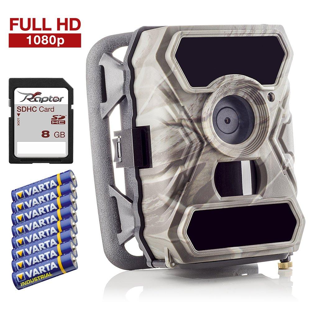 SECACAM Raptor Full HD 52 Grados Cámara de vigilancia | Cámara de Caza – Pack Premium