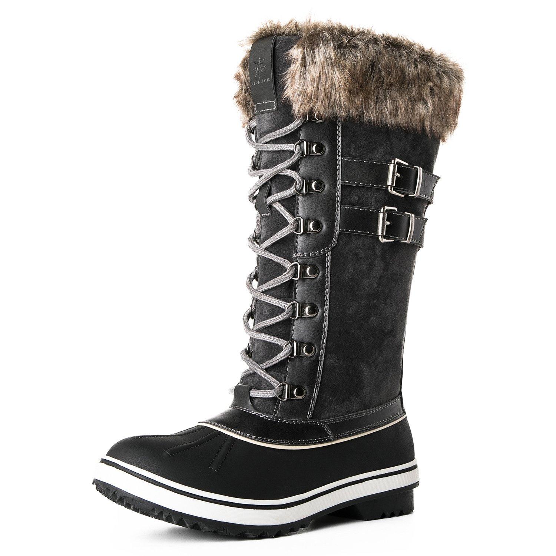 Global Win GLOBALWIN Women's 1730 Winter Snow Boots B075MMXM81 9 B(M) US 1735grey