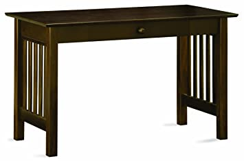 Amazon.com: Mission Writing Desk, Antique Walnut: Kitchen & Dining