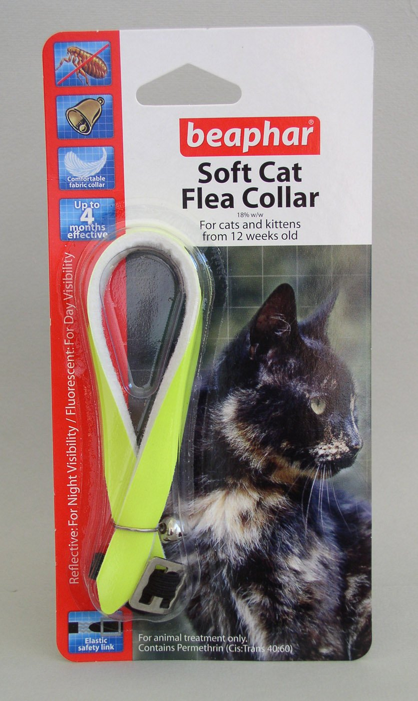 (3 Pack) Beaphar - Cat Flea Collar Reflective