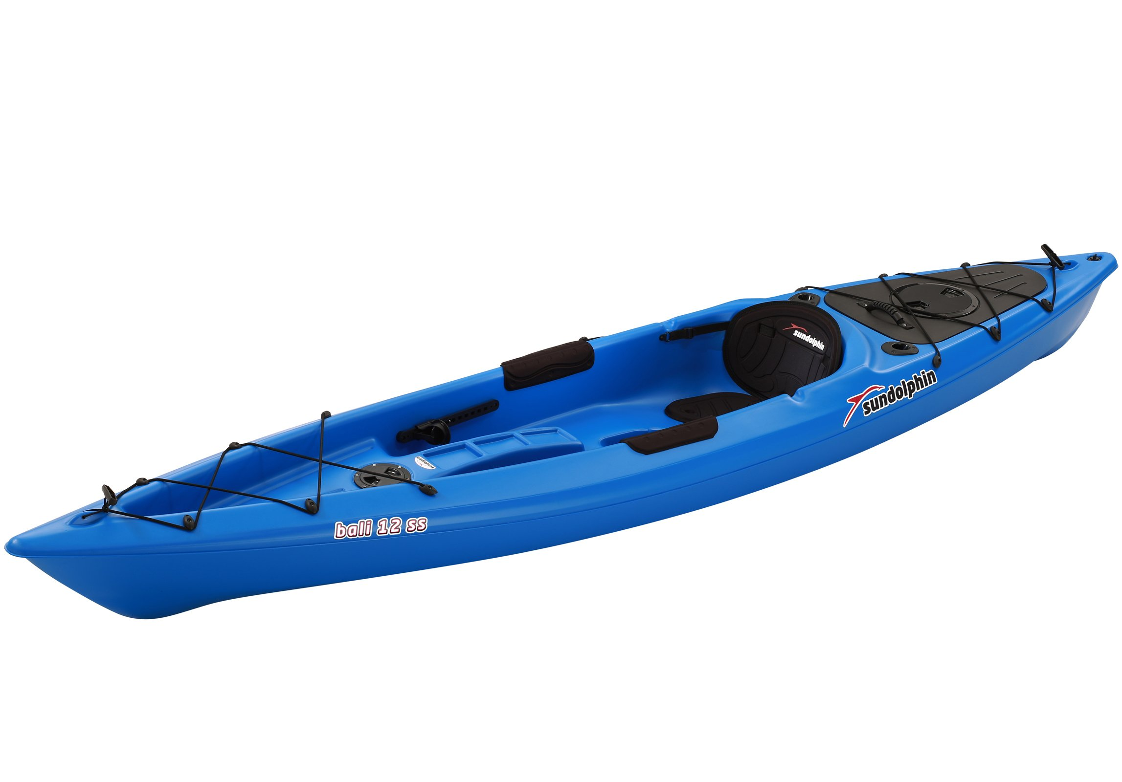 SUNDOLPHIN Sun Dolphin Bali SS Sit-on top Kayak (Blue, 12-Feet) by SUNDOLPHIN