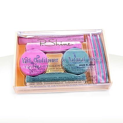 OcibelP. Shine - Kit de manicura japonesa (incluye uñas postizas