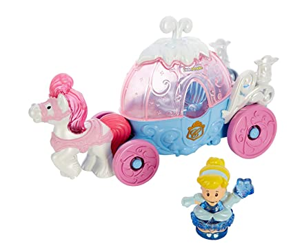 Fisher-Price - Little People - Disney Princess Cinderella Carriage ... 9941d120f420