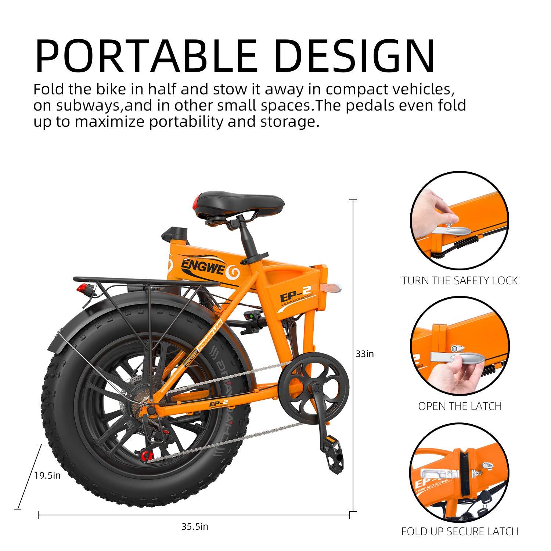 ENGWE Bicicleta eléctrica de montaña, Bicicleta de montaña ...