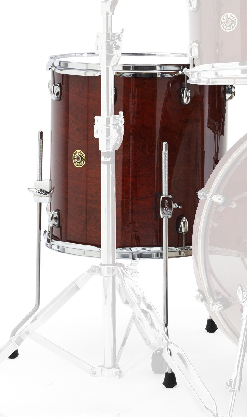Gretsch Drums Catalina Maple CM1-1414F-WG Drum Set Floor Tom, Walnut Glaze by Gretsch Drums