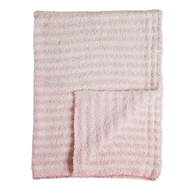 B. Boutique Luxe Chenille Cozy Blanket, Pink: Home & Kitchen