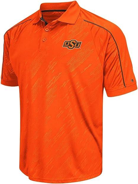 Oklahoma State Cowboys para hombre naranja aguanieve sintético polo, Anaranjado: Amazon.es: Deportes y aire libre