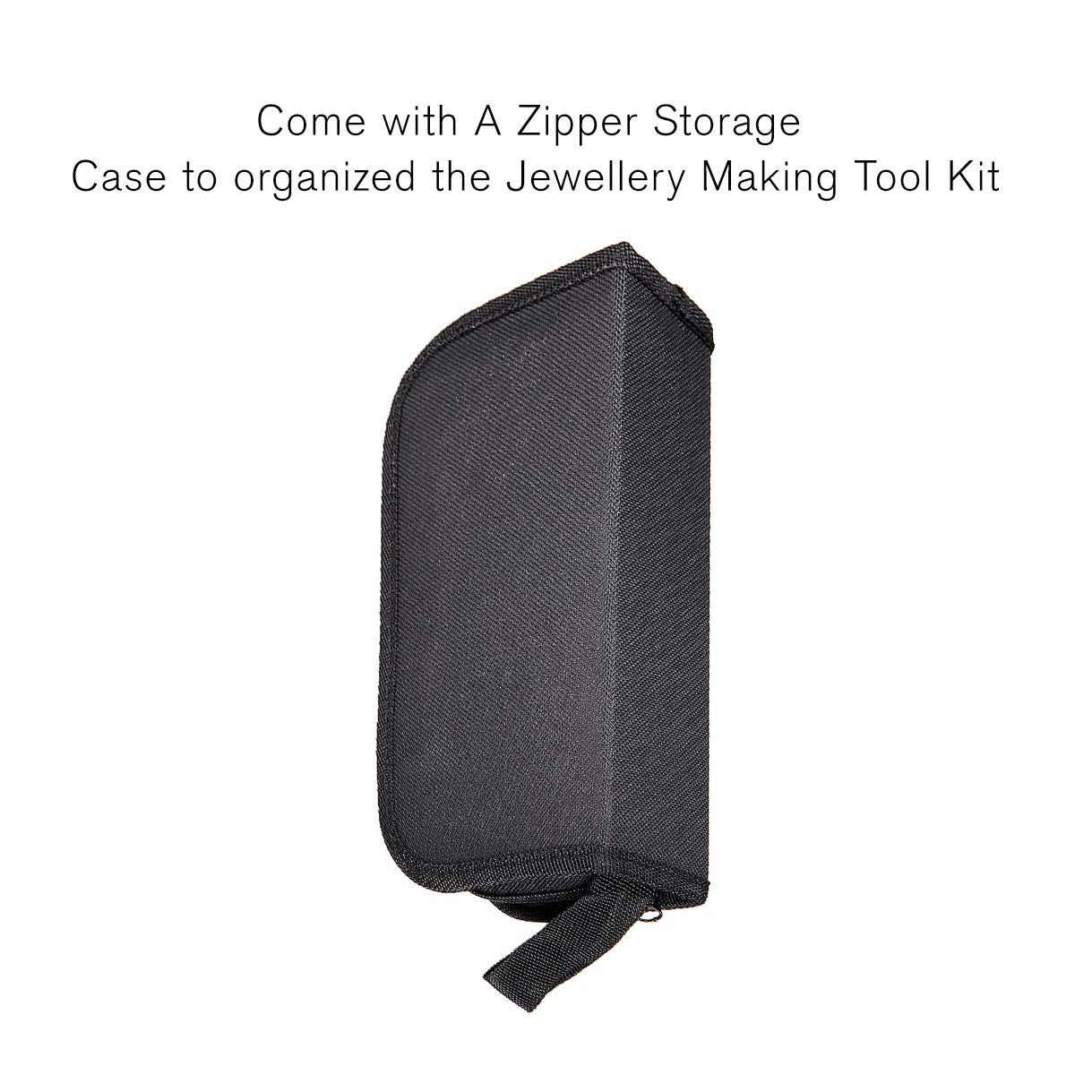 Jeteven 21 Pcs Jewellery Making Tool Kit with Zipper Storage Case for Earrings Crafting Beading