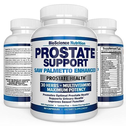 hierbas para mejorar la prostata