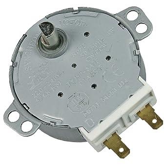 Motor de plato – horno microondas – Ariston Hotpoint, Bauknecht, Indesit, KitchenAid,