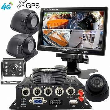 Amazon.com: wenichen 3 G GPS MDVR Kit para autobús, camión ...