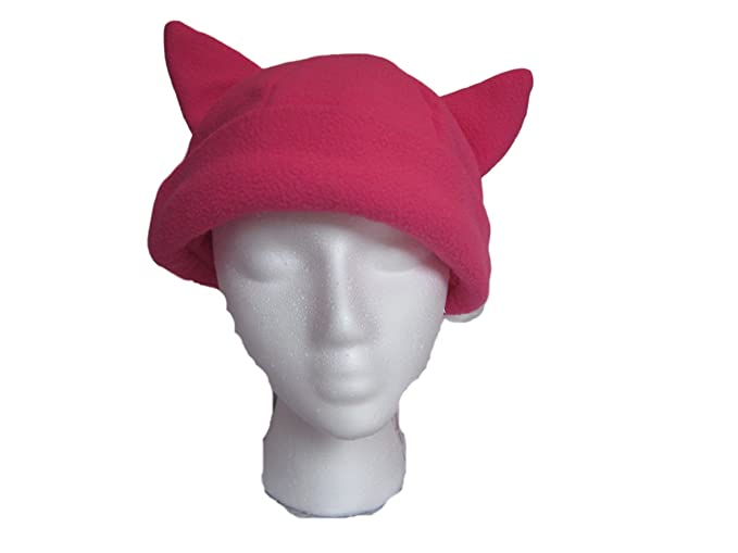 45edc0ac1481b0 Image Unavailable. Image not available for. Color: Pink Pussyhat, Cat Ears  Hat, Pussycat ...
