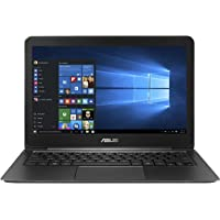 "Asus UX305UA-FB004T Zenbook Portatile, Display 13.3"" QHD+, Intel Core i7-6500U, RAM 8 GB, SSD 512 GB, Nero/Antracite"