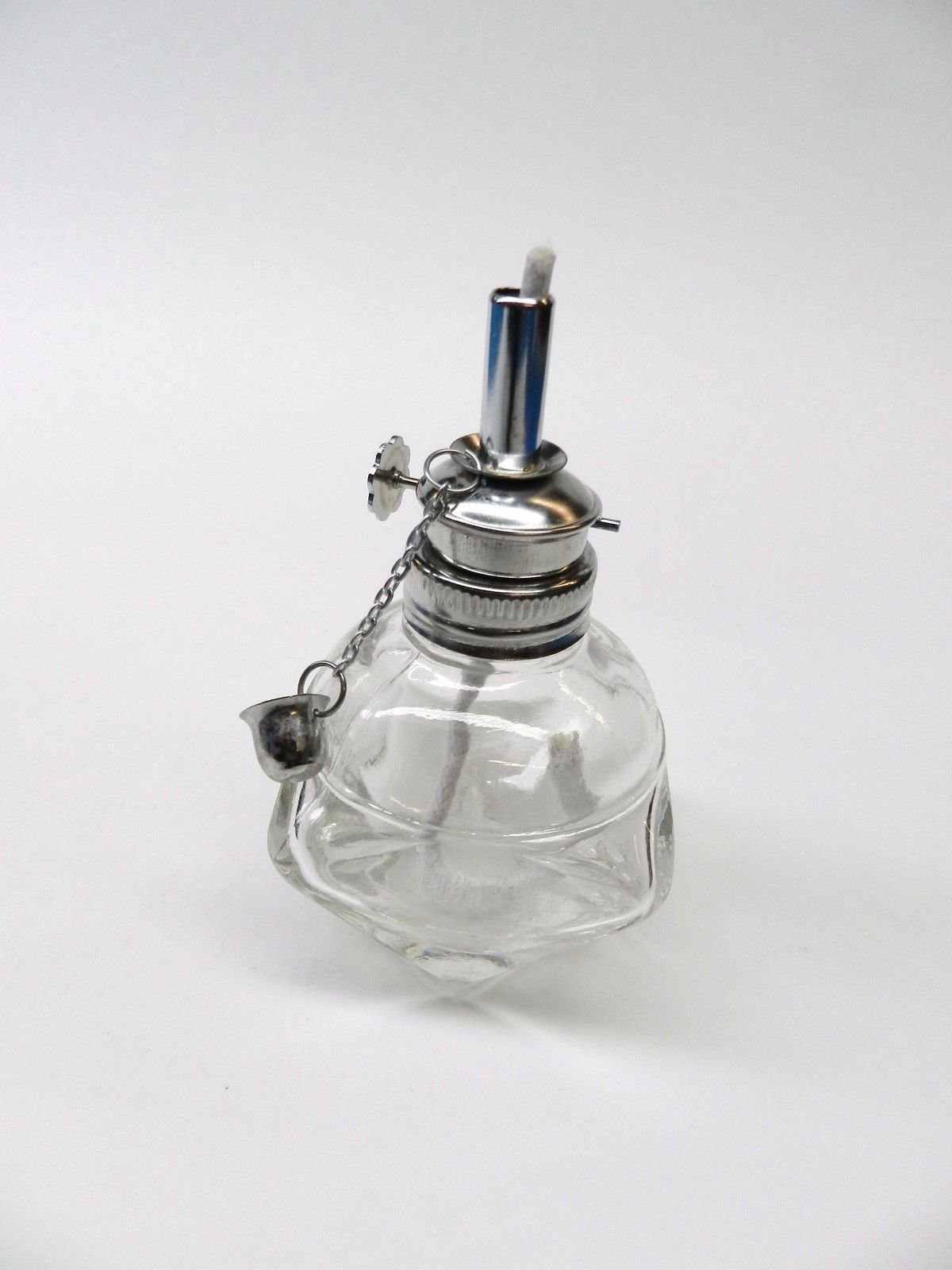 Alcohol Lamp Glass Spirit Lamp Burner Faceted Sides & Adjustable Wick Wax Work by EUROTOOL (Image #8)