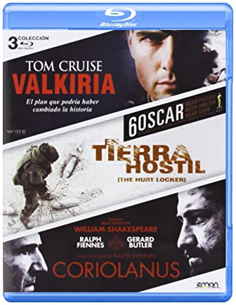 Pack: Coriolanus + Valkiria + En Tierra Hostil Blu-ray: Amazon.es ...