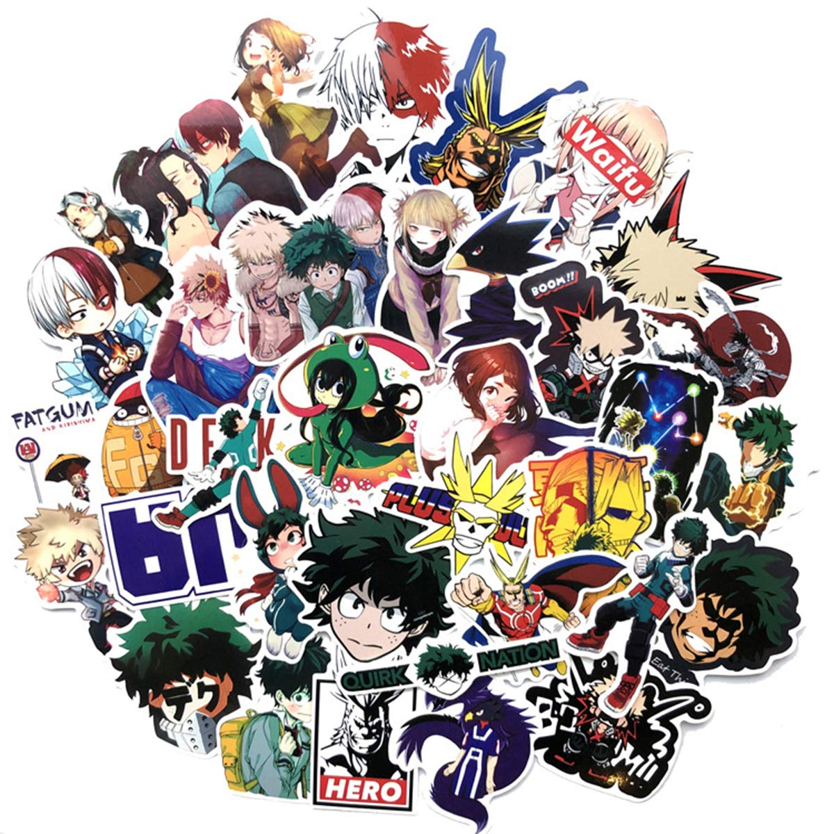 Stickers Calcos 73 Un. My Hero Academia Anime (7mb3krth)
