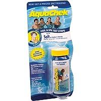 AquaCheck WHITE Spa-SALT & Pool prueba Strips-Bandas