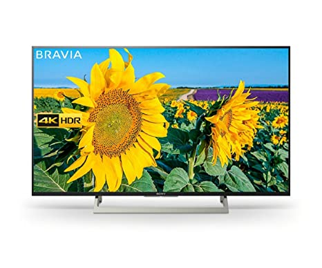 9be96cb4e Sony Bravia KD55XF8096 55-Inch Android 4K HDR Ultra HD TV with YouView and  Freeview HD - Black (2018 Model)  Amazon.co.uk  TV
