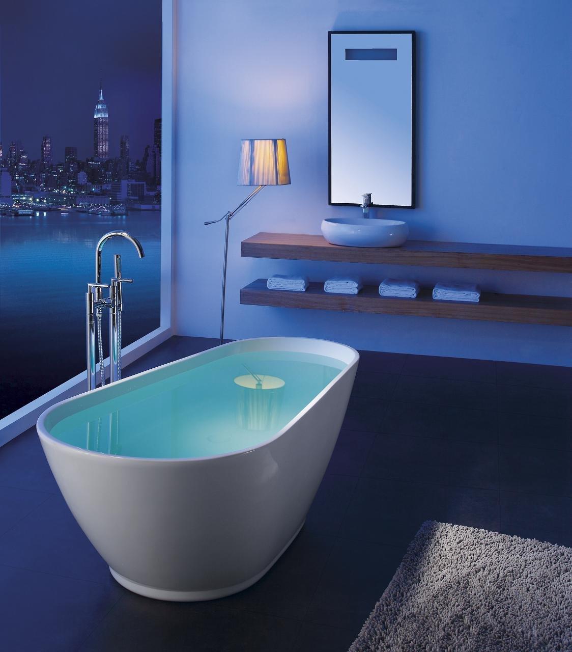 Amazon.com: Modern Bathtub - Soaking Bathtub - Freestanding Bathtub ...