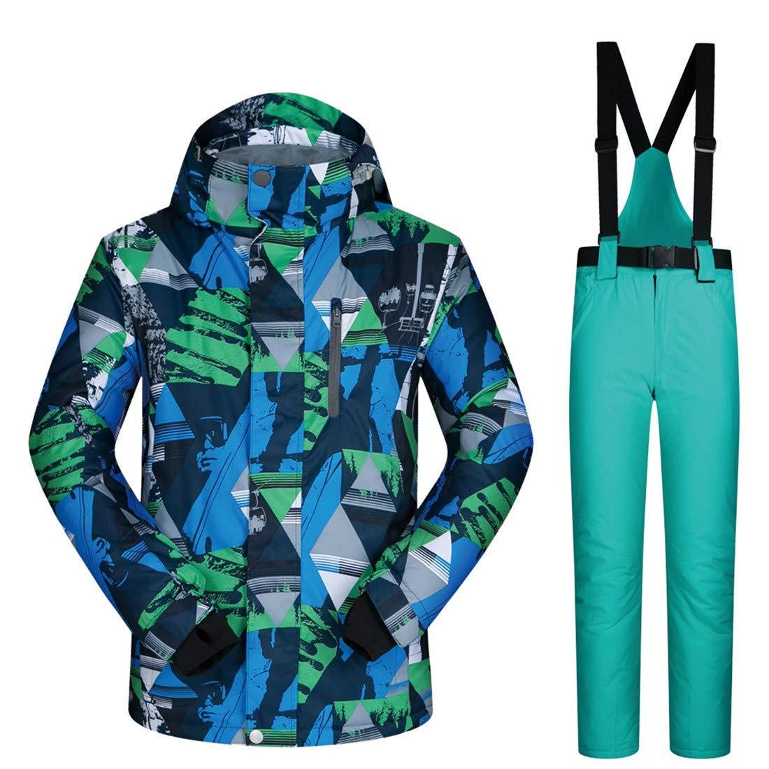 LNLW For Mujer y for Hombre y esquí SnowboardingJacket Pantalones ...