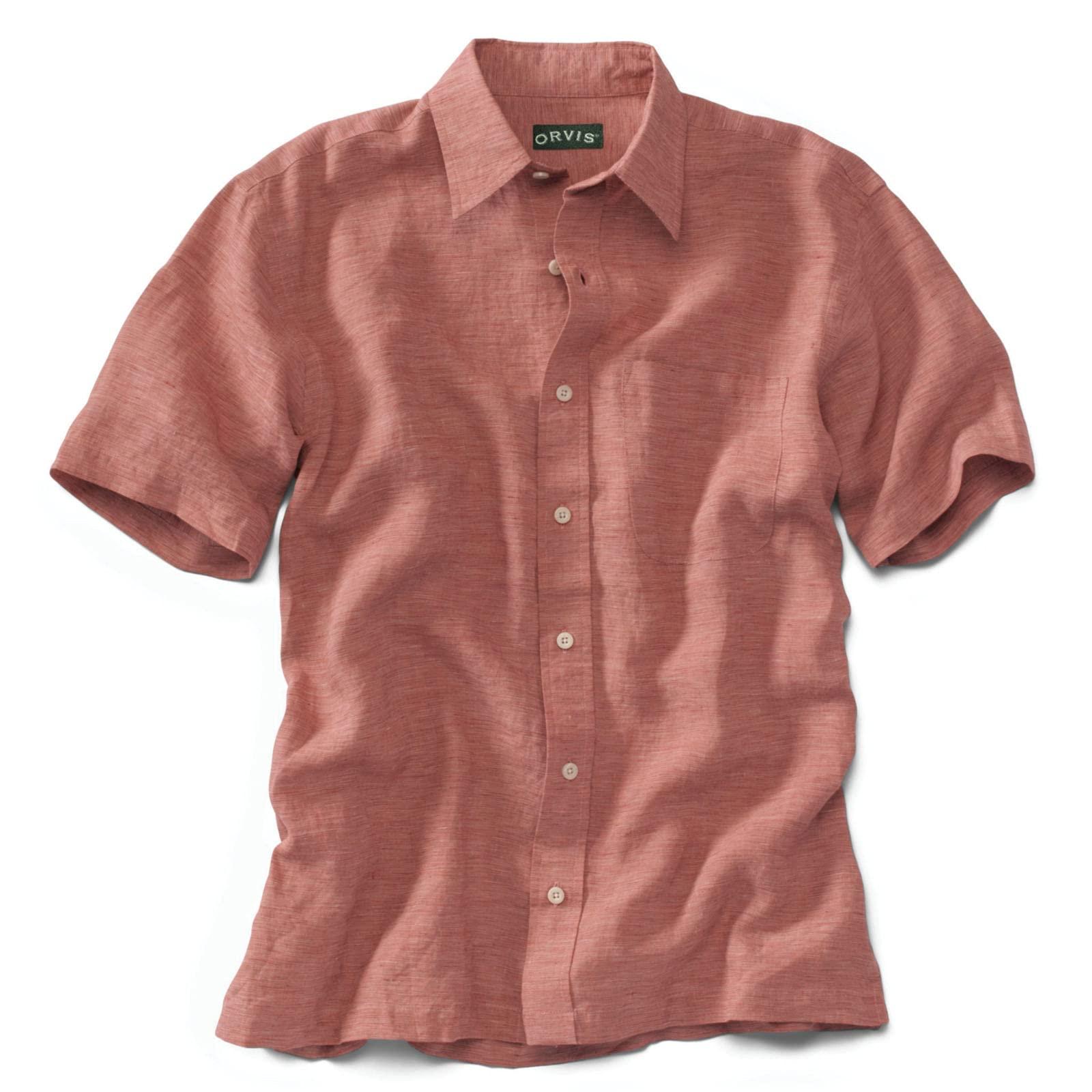 Orvis Pure Linen Havana Shirt
