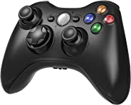 Wireless Controller for Xbox 360, 2.4GHZ Game Joystick Controller Gamepad Remote for Xbox 360 Slim Console, PC Windows 7,8,1