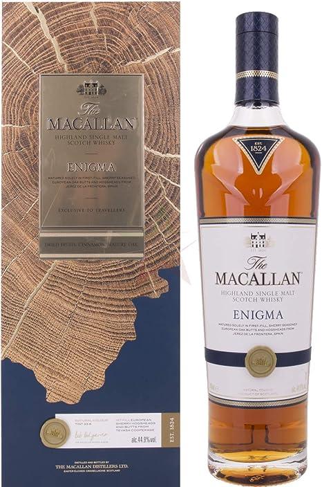 Macallan Enigma - Whisky, estuche incluida, 700 ml: Amazon.es: Alimentación y bebidas