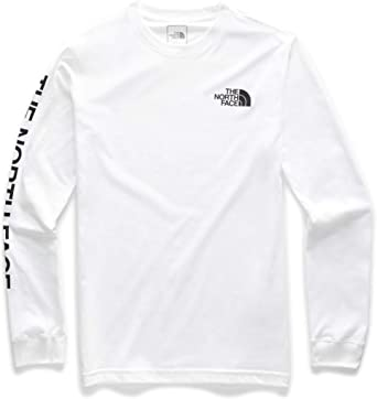 The North Face Mens Long Sleeve Brand Proud Cotton Tee