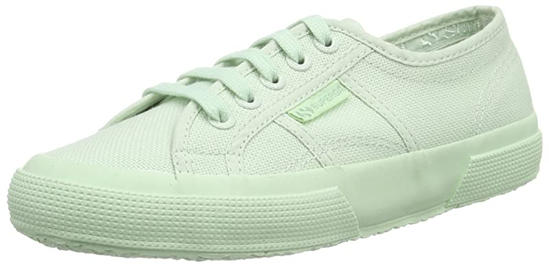 Superga 2750 Cotu Classic Sneakers Low-Top Unisex Damen Herren Grün (Mint Green)