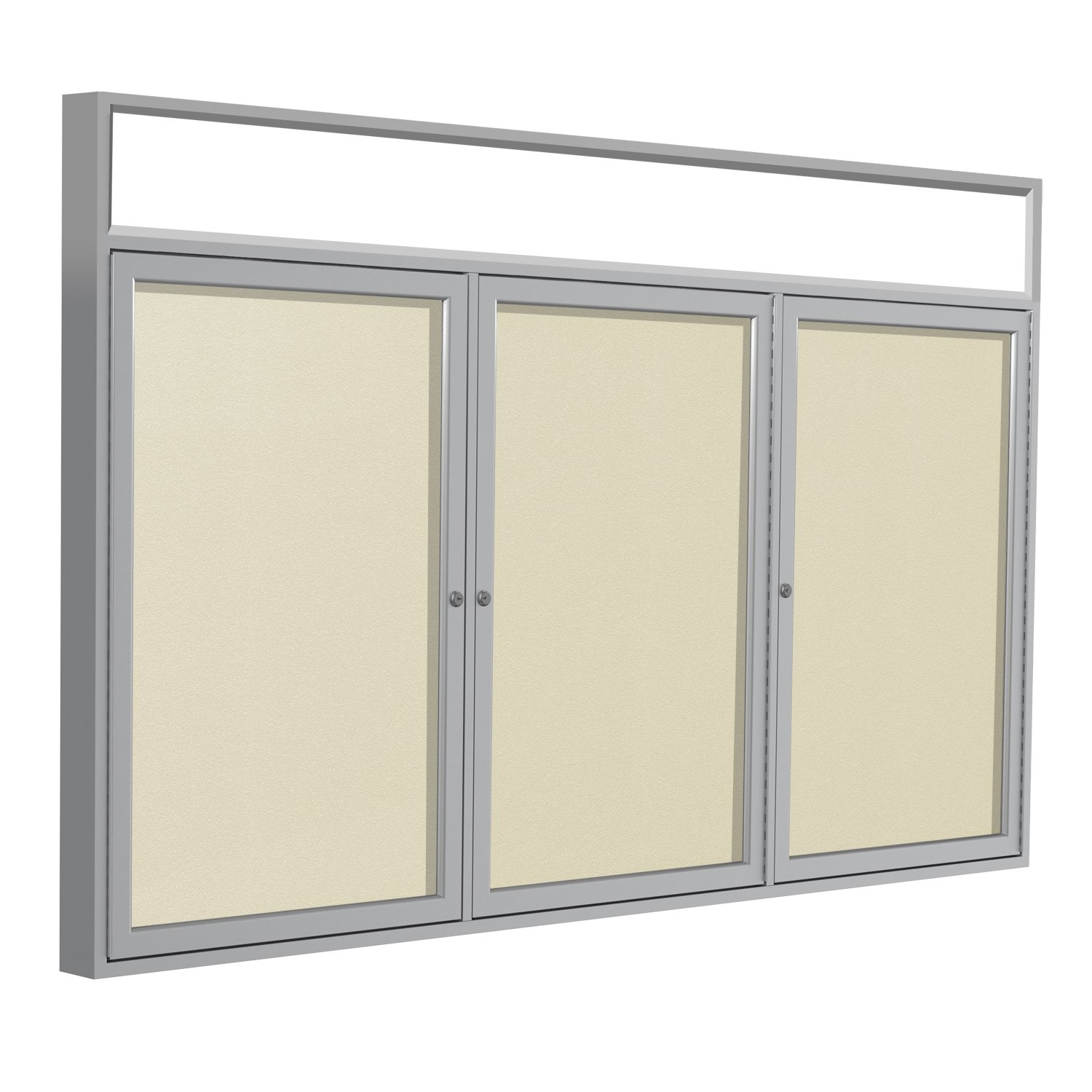 Ghent 36 x 72 Inches Outdoor Satin Frame Enclosed