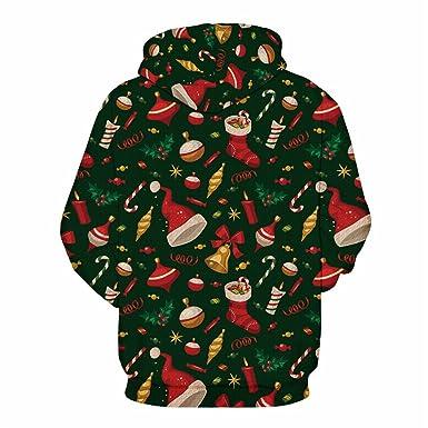 New 3D Hoodies Men Women Sweatshirt Christmas Print Streetwear Pullover Unisex Hooded Tracksuit Beige S