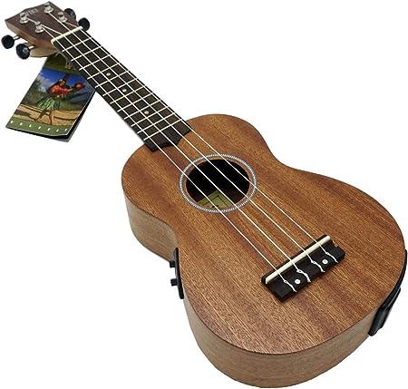 Wiki UK20CE vasilou ukelele madera de caoba concert acabado ...