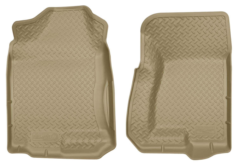 Husky Liners 2nd Seat Floor Liner Fits 99-07 Silverado//Sierra 1500 Extended Cab