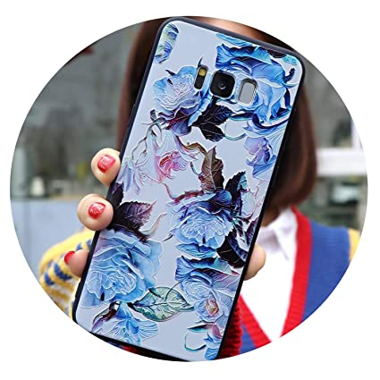 Amazon.com: 3D Flower Emboss TPU for Samsung Galaxy M20 M10 ...