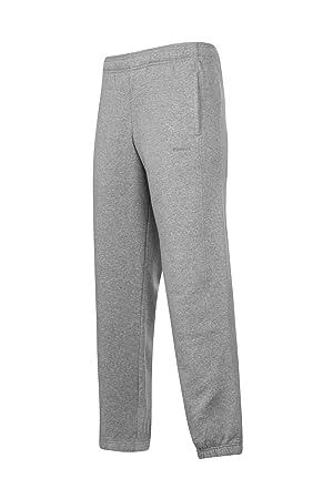 97dfb02496a3 Reebok Core Cuff Sweat Pants Mens Grey Track Tracksuit Bottoms Pantalon  XLarge