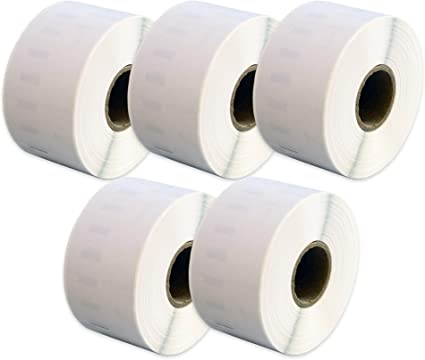 2 Rolls 99012 Labels Compatible for Dymo//Seiko 36 x 89mm 260 labels per roll