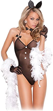 Playboy Bunny Naughty Womens Adult Bedroom Cosplay Costume