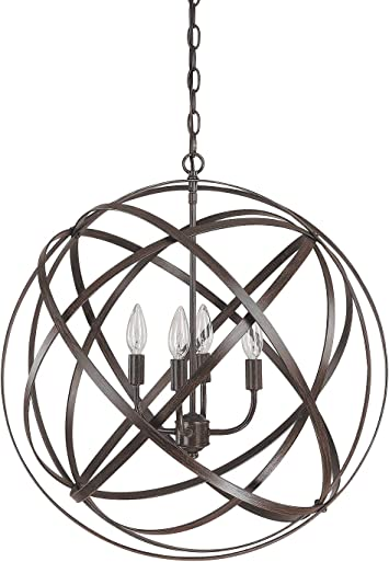 Capital Lighting 4234rs 4 Light Pendant In Russet Finish From The Axis Collection Ceiling Pendant Fixtures