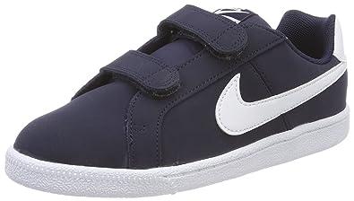 6c33756cb52 Nike Court Royale (PSV) Little Kids 833536-400 Size 2.5 Obsidian White