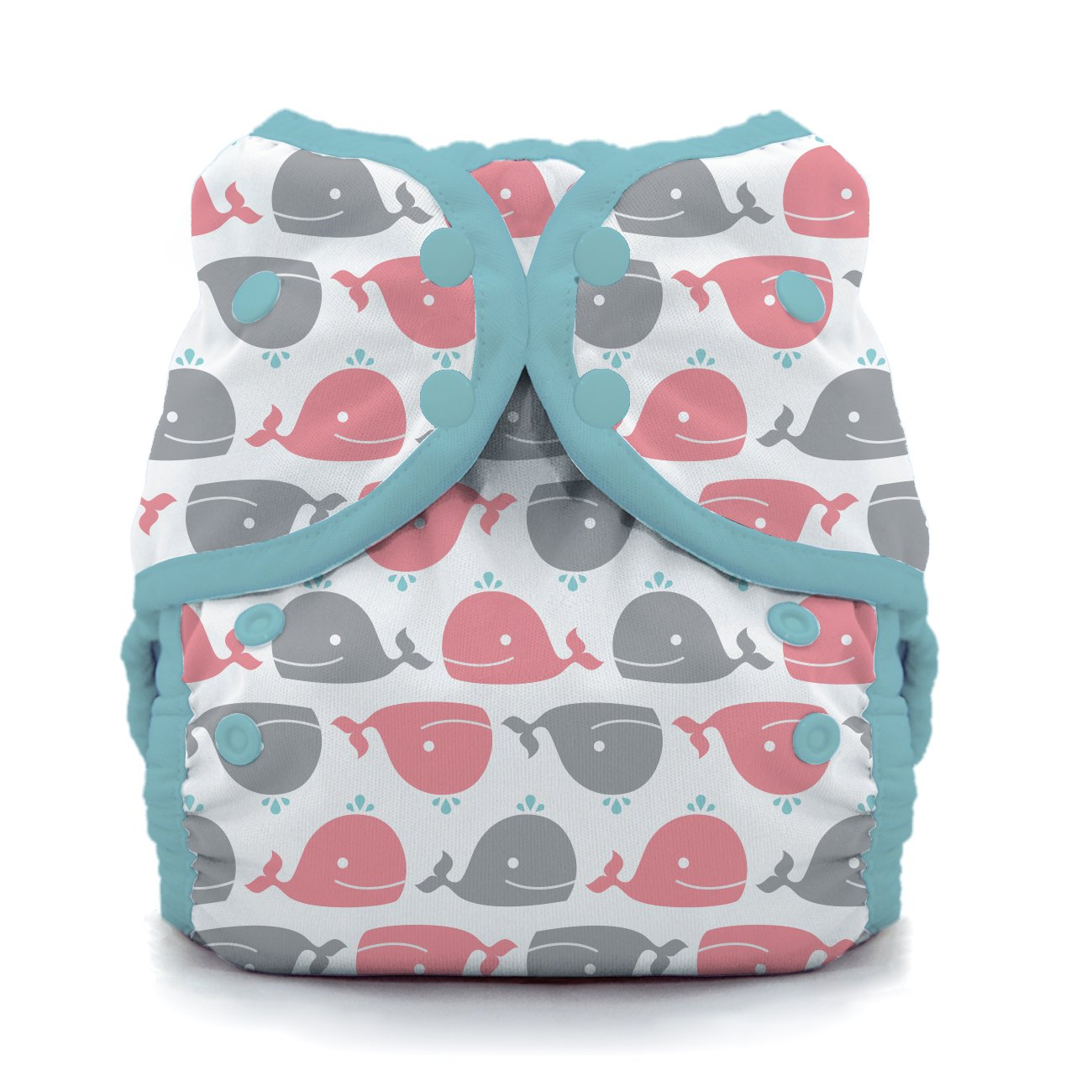 Swim Diaper- Whales Size One, Size One (6-18 lbs) by Thirsties