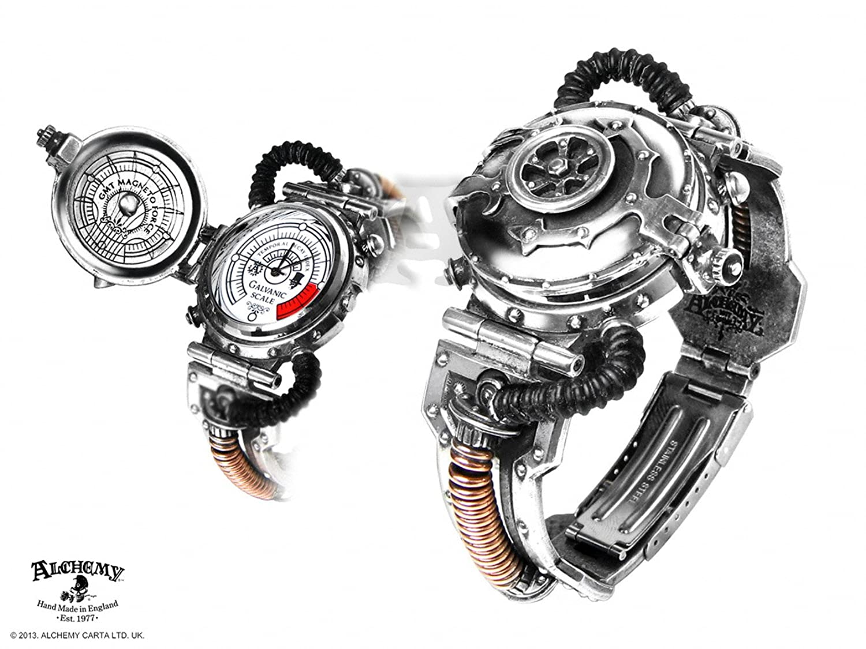 Alchemy Gothic Eer Dampfkraftmotoren Entropie Armbanduhr