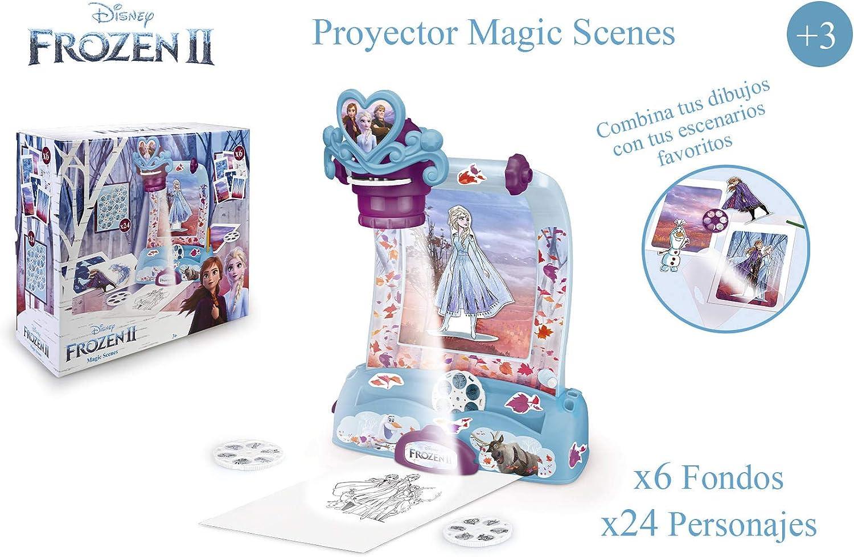 Magic Artist - Frozen 2 Magic Scenes, Proyector para Dibujar y ...