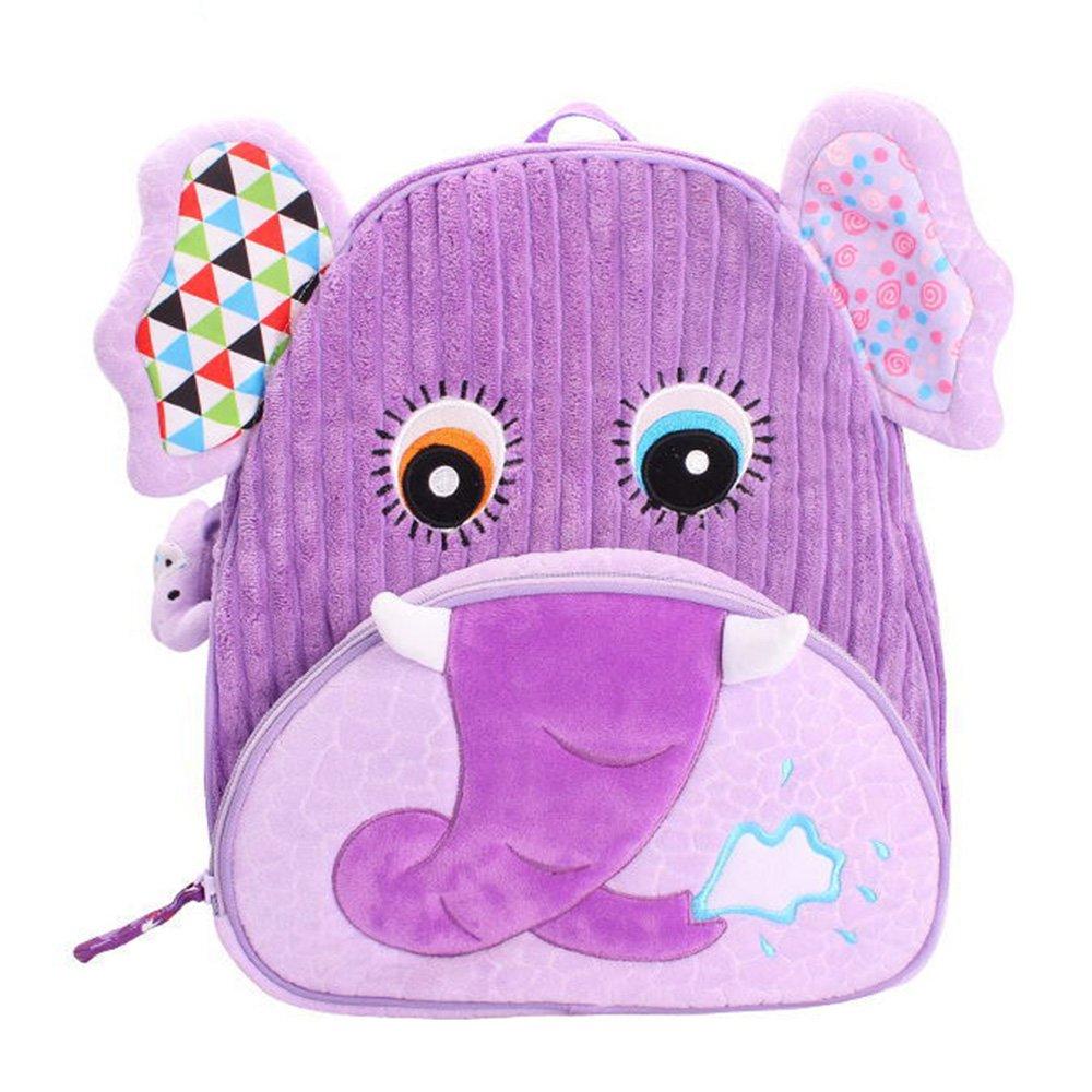 Toddler Mini Backpack for Girls Boys Cute 3D Animal Cartoon Children Preschool Owl Backpack Plush Bag for Kids Rejolly