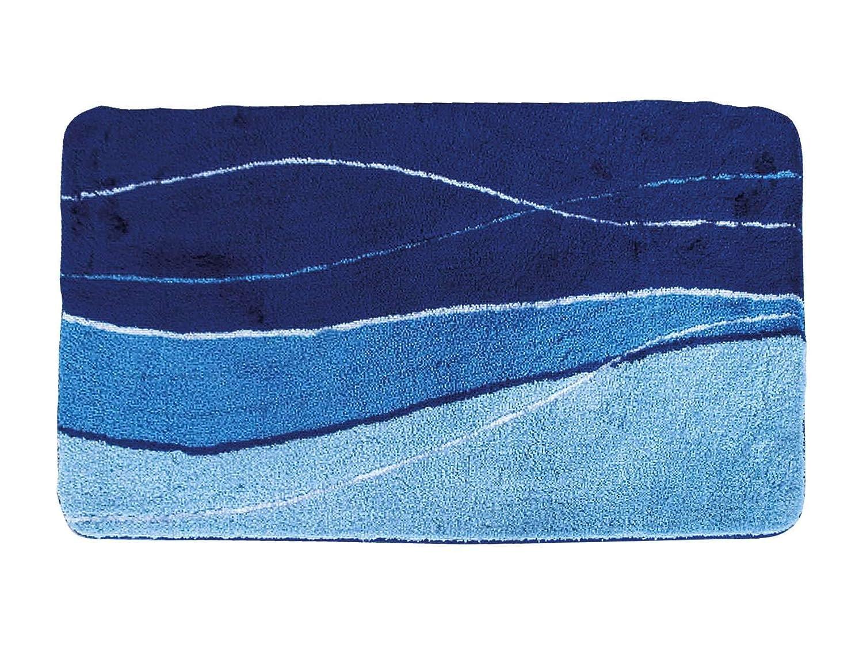 Avanti Trendstore - Bath Bath Bath - Badematte aus 100% Acryl, blau, Maße BT 70x120 cm B07G482S2M Duschmatten 64ceb5