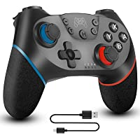 Wireless Pro Controller Compatible for Nintendo Switch Sefitopher Bluetooth Switch Pro Controller Gampad Joypad ,PC…