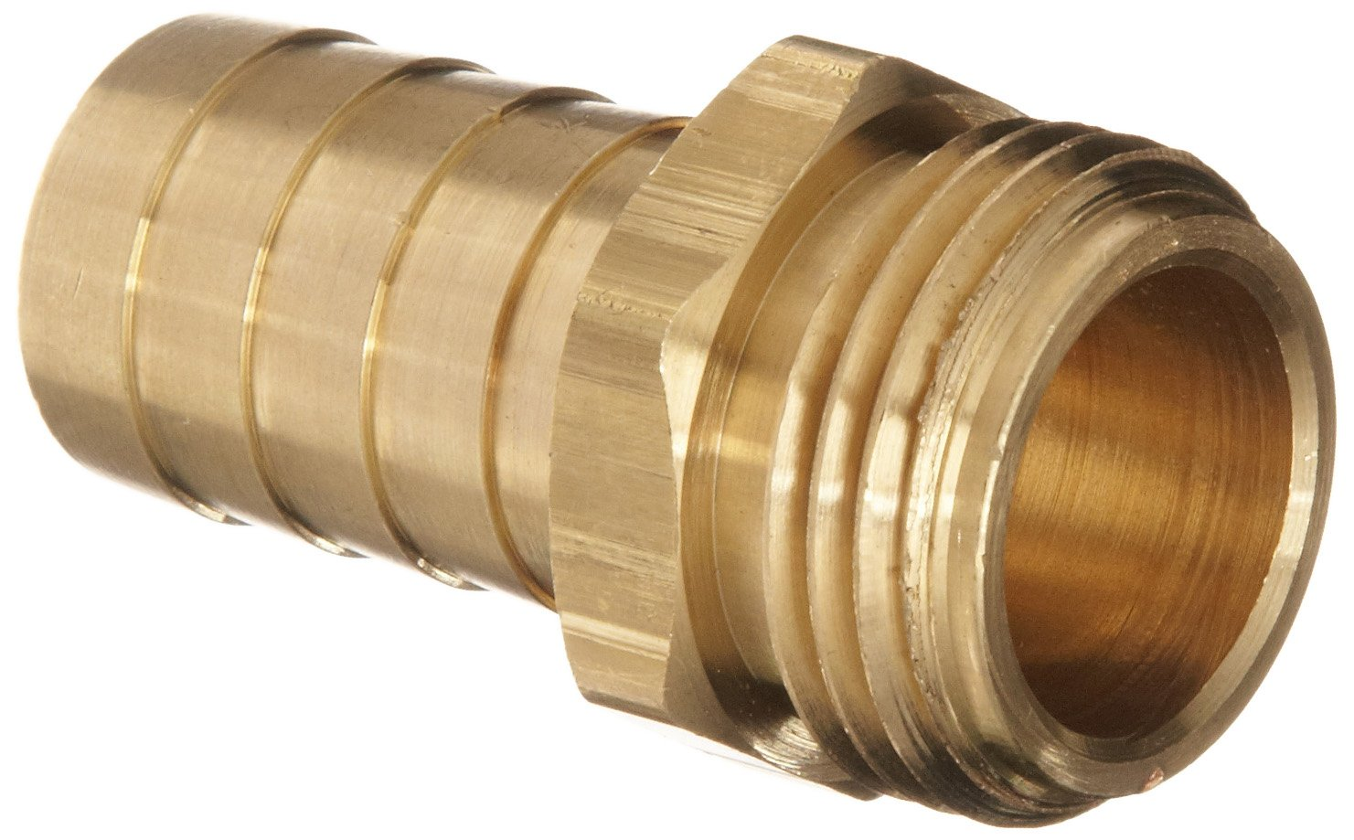 Dixon BCM76 Brass Hose Fitting, Machined Coupling, 3/4